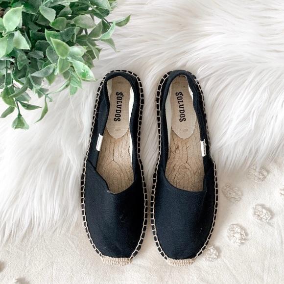 Soludos Shoes - Soludos Black Espadrilles